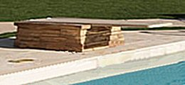 Poolscapes inground pool diving boards